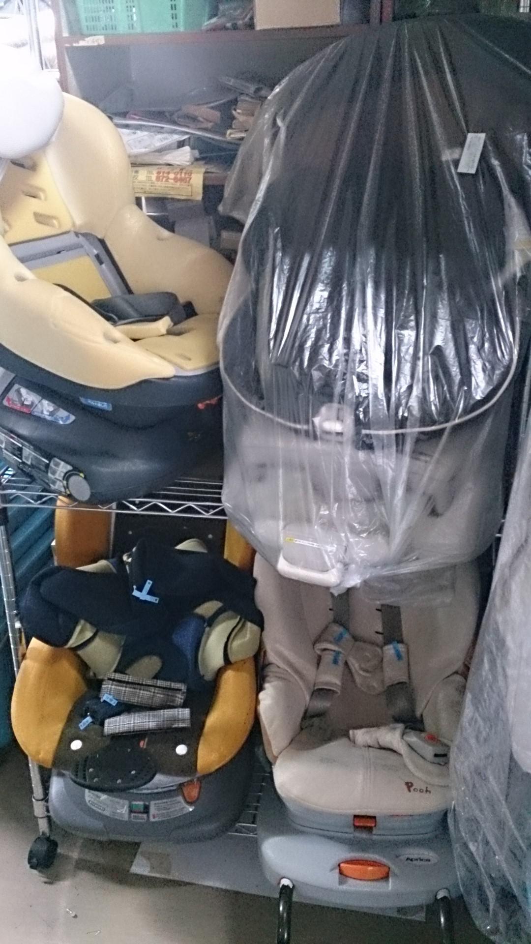 札幌のチャイルドシートのクリーニングお任せ下さい
